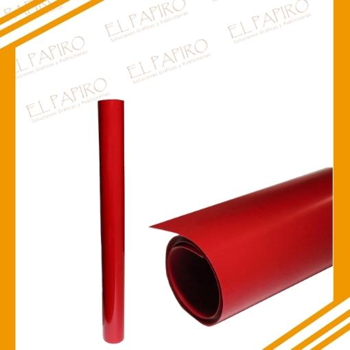 vinilo rojo textil