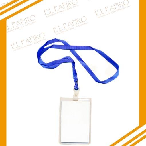 Credenciales PVC con Lanyard