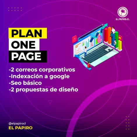 plan seo avanzado one page